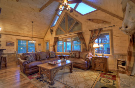 Heartwood Lodge | Cabin Rentals of Georgia | Luxury Blue Ridge Living
