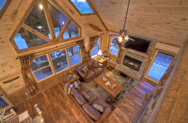 Heartwood Lodge | Cabin Rentals of Georgia | Lofty View