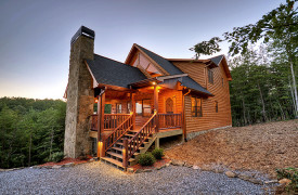 Heartwood Lodge | Cabin Rentals of Georgia | Luxury Blue Ridge Cabin
