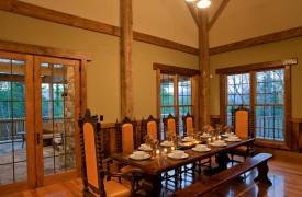 Cadence Ridge | Cabin Rentals of Georgia | Elegant Dining
