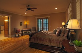 Cadence Ridge | Cabin Rentals of Georgia | Main Level King Suite