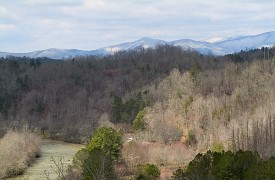 Riverview Lodge | Cabin Rentals of Georgia | Beautiful Mountain View