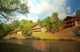 Hiwassee River Run | Cabin Rentals of Georgia | Overview of Cabins