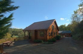Hiwassee River Run | Cabin Rentals of Georgia | Exterior View
