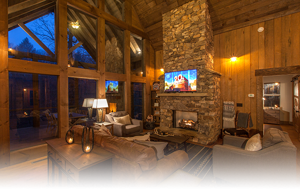Creekside Bend | Blue Ridge Luxury Cabin Rental | Cabin Rentals of Georgia