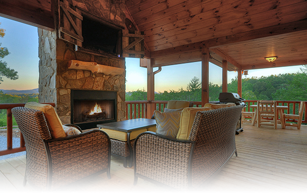 Heartwood Lodge | Cabin Rentals of Georgia | Blue Ridge Cabin Rentals