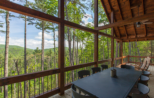 Above the Timberline | Cabin Rentals of Georgia | Mountaintop Paradise