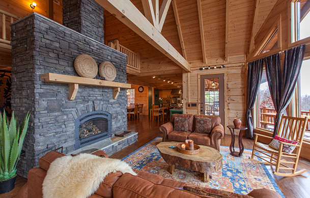 Sky High Lodge |Luxury Living with Views | Cabin Rentals of Georgia