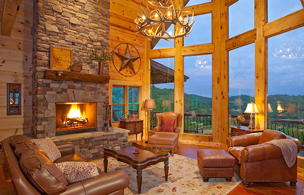 Luxury Blue Ridge Cabin Rental | Cabin Rentals of Georgia