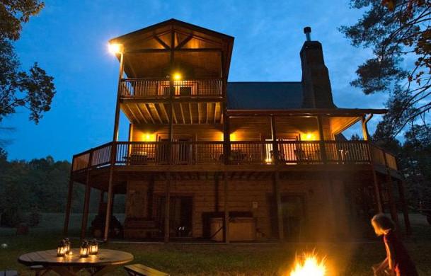 Crooked Creek Cabin | Blue Ridge Cabin Rental | Cabin Rentals of Georgia