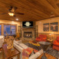 TerraceLevelCozyFurnishingsw/FireplaceandTV