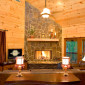 GreatRoomfeaturesLargeWood-burningFireplace,Views&CoveredPorchAccess