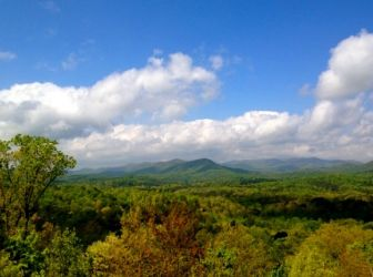 Blue Ridge Mountain Views