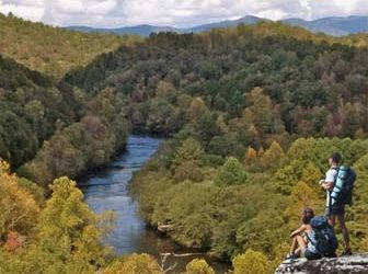 The Experience | Cabin Rentals of Georgia | Toccoa River Meandering Through North GA mountains